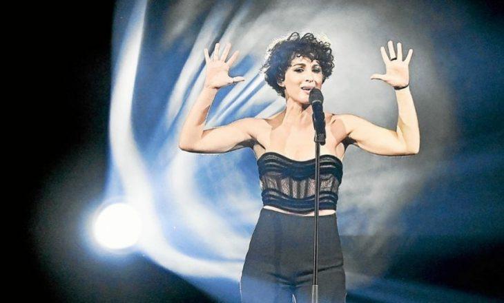 """""""Ajo është e çmendur"""" përfaqësuesja e Francës në """"Eurovision flet për Anxhelën"""