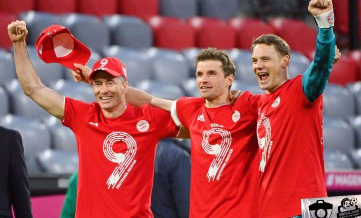 Bayern Munchen kampion në Bundesligë – rezultatet e javës së fundit kampionale
