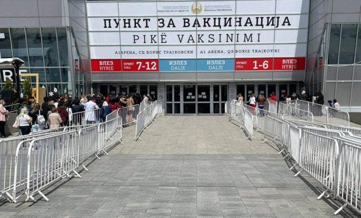 Maqedoni e Veriut: Nis imunizimi masiv kundër COVID-19