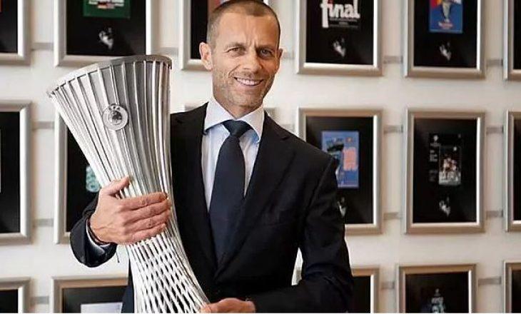 UEFA zbulon trofeun e Conference League