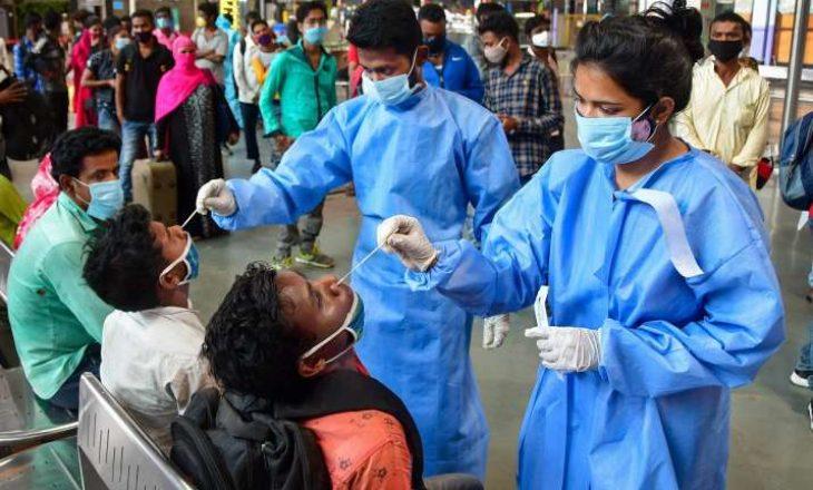 India regjistron mbi 400 mijë raste me Covid-19 në një ditë të vetme