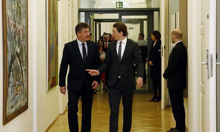 Kancelari austriak takohet sot me Lajçak për dialogun Kosovë-Serbi