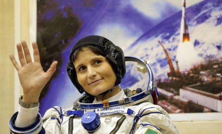 Samantha Cristoforetti do të jetë gruaja e parë evropiane që komandon Stacionin Ndërkombëtar të Hapësirës