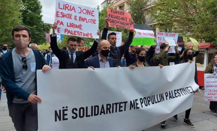 Deputeti VV-së që mori pjesë në marshin për Palestinën: Nuk jam kundër Izraelit