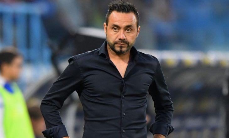 Trajneri i Sassuolos, De Zerbi emërohet trajner i Shakhtar Donetks nga edicioni i ardhshëm