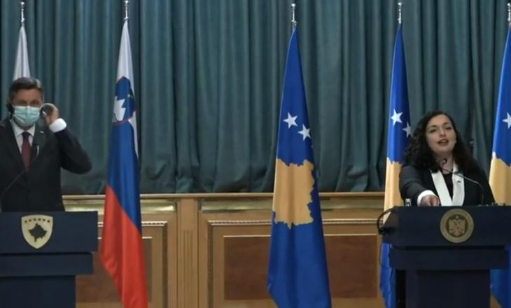 Presidenti Slloven pas takimit me Osmanin: Ballkani Perëndimor duhet të jetë pjesë e BE-së