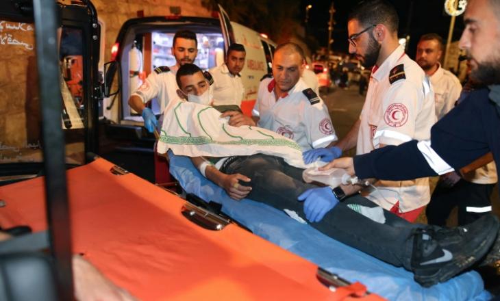 Dhjetëra palestinezë lëndohen dhe arrestohen në përplasje me policinë izraelite