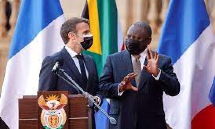 Macron thotë se Franca do të ndihmojë Afrikën të bëjë më shumë vaksina COVID-19