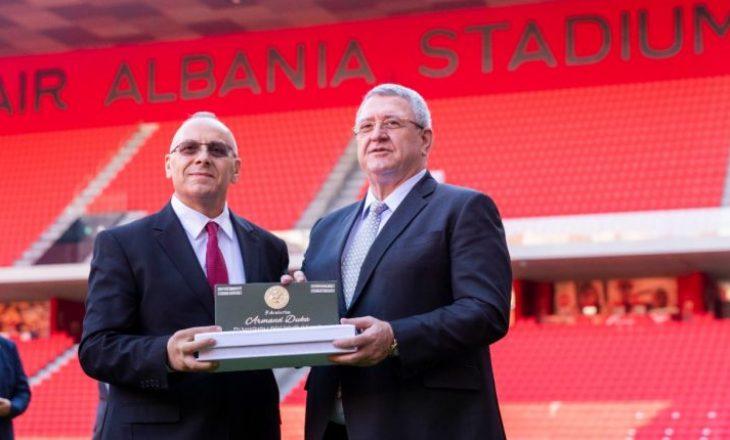 Kreu i FSHF-së uron FFK-në në pesë vjetorin e anëtarësimit në UEFA