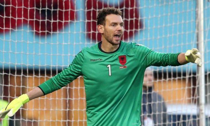 Etrit Berisha mungon për Shqipërinë në ndeshjet miqësore të qershorit