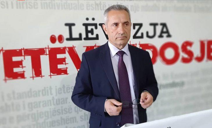 Isufi dorëhiqet nga pozita e kryetarit të degës së VV-së në Gjilan