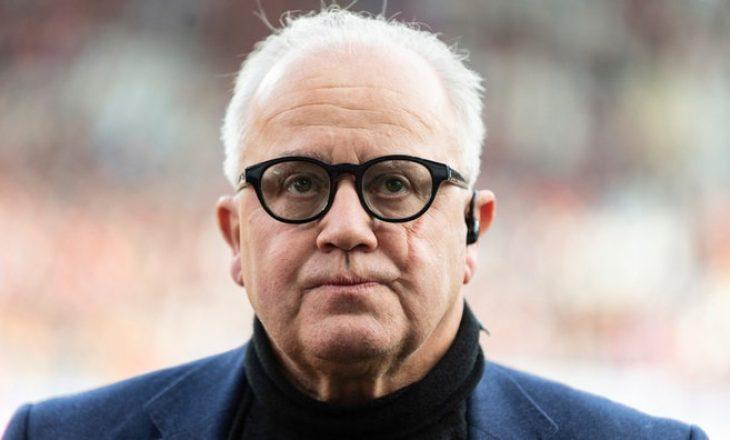 Presidenti i Federatës Gjermane të Futbollit jep dorëheqje shkaku i një deklarate