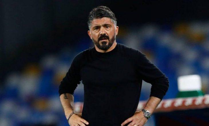 Napoli shkarkon Gattuso