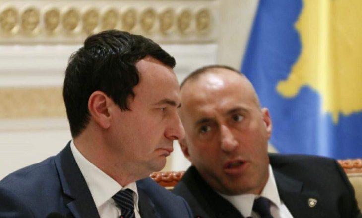 Haradinaj pyet Kurtin: A jeni agjent i Serbisë?