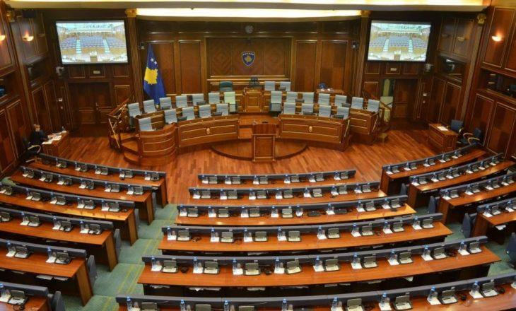 Shtyhet seanca e Kuvendit për 3 qershor