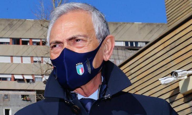 Presidentit i Federatës italiane flet për fatin e Juventusit në lidhej me Super Ligën Europiane