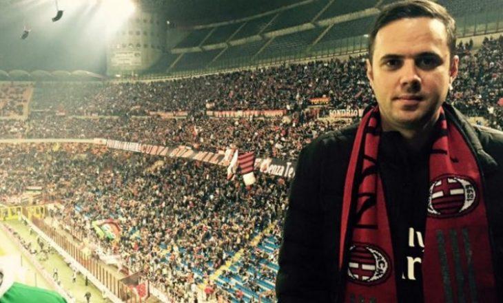Kryetari i LDK-së i gëzohet kthimit të Milanit në Champions League