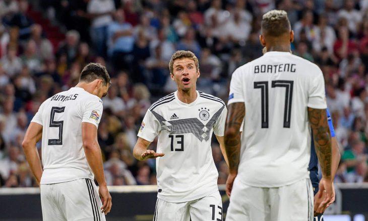 Gjermania publikon listën e lojtarëve për Kampionatin Europian