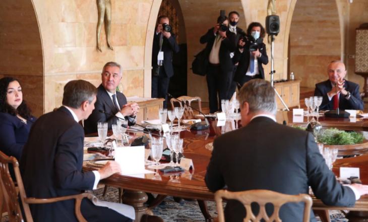 Osmani në drekë pune me liderët e Ballkanit Perëndimor, por jo edhe Vuçiq