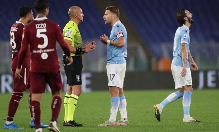 Me pikën e fituar në Romë te Lazio, Torino edhe matematikisht siguron mbijetesën në Serie A
