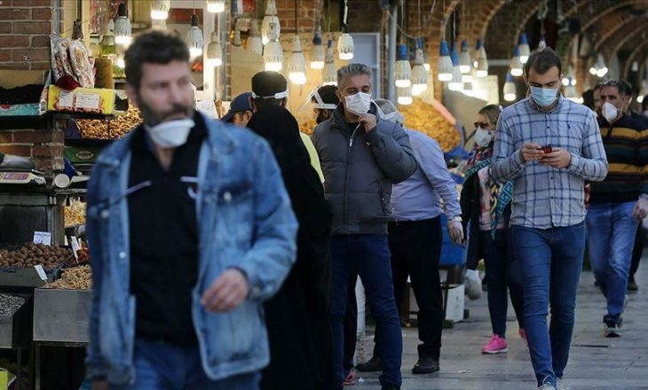 Irani raporton 307 viktima nga COVID-19 në 24 orët e fundit