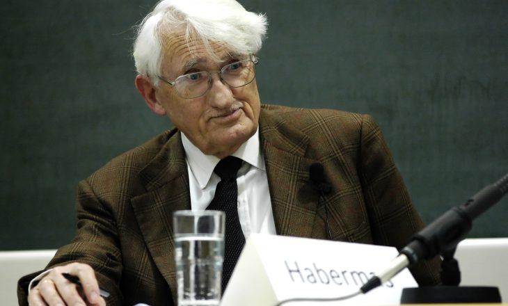 Filozofi gjerman Habermas refuzon çmimin letrar nga Emiratet e Bashkuara Arabe