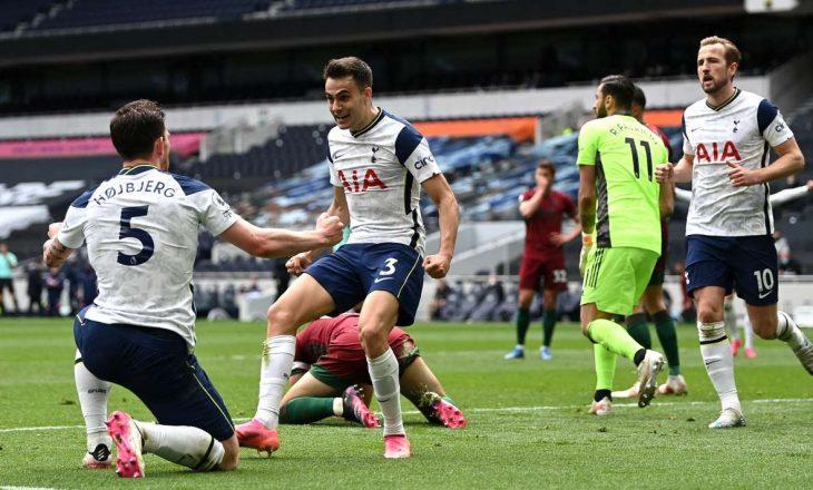 Tottenham fiton sfidën në shtëpi ndaj Wolvesit