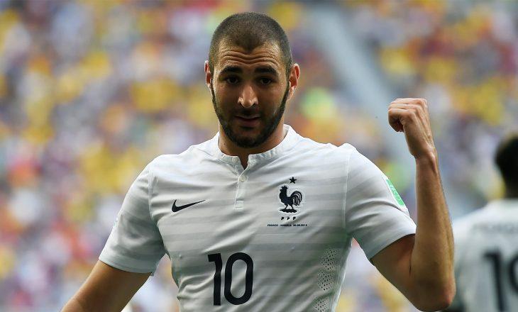 Rritet dukshëm shitja e fanellave të Francës pas rikthimit të Benzemas