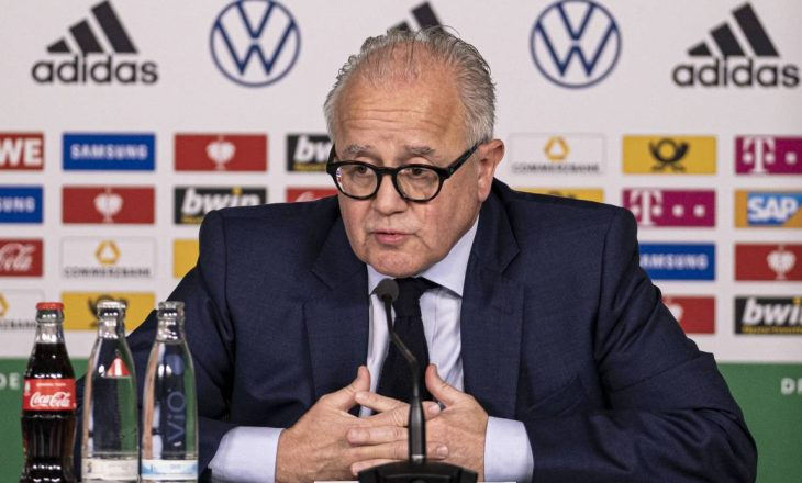 """Presidenti i Federatës gjermane të Futbollit jep dorëheqje, i'u drejtua nënkryetarit me fjalën """"nazist"""""""