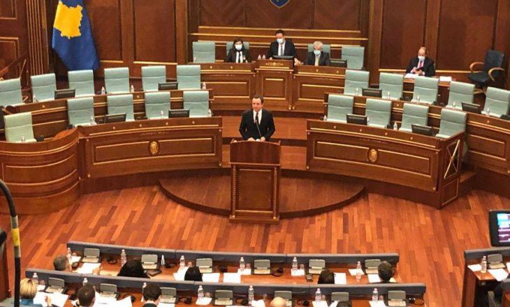 Nesër në Kuvend Qeveria Kurti II prezanton programin e saj qeverisës