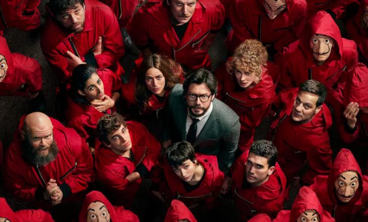 Netflix publikon një pjesë nga episodet e fundit të 'La Casa de Papel'