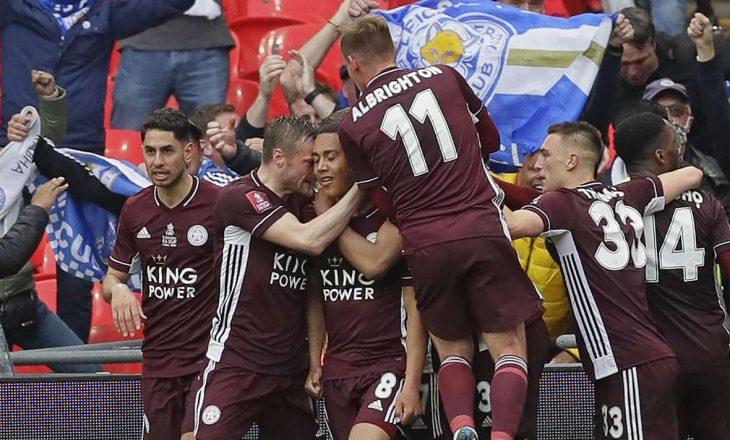 Leicester fiton Kupën e Anglisë, mposht Chelsean minimalisht në finale