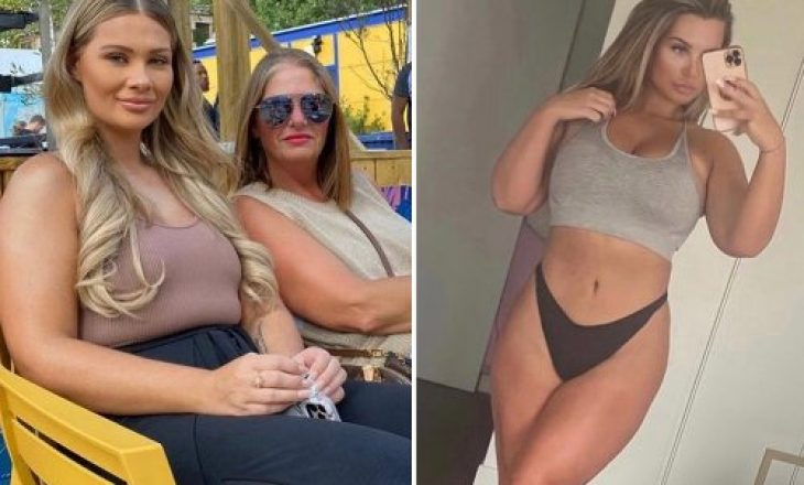 Shaughna Phillips e Love Island zbulon humbjen e peshës