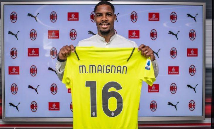 Milani zyrtarizon nënshkrimin me portierin Maignan