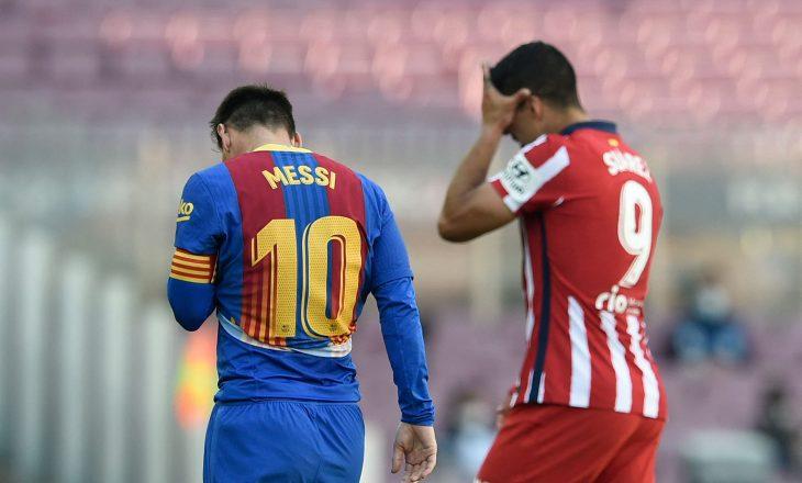 Barcelona dhe Atletico mbyllet pa fitues, ekipi i Simeones mbetet lider në La Liga