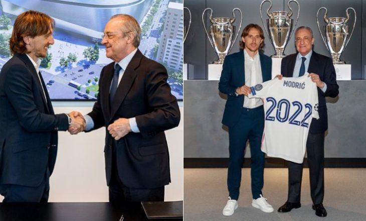 Modriç vazhdon kontratën me Realin e Madridit