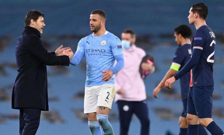 Notat e futbollistëve të ndeshjes City-PSG, Mahrez lojtari i ndeshjes