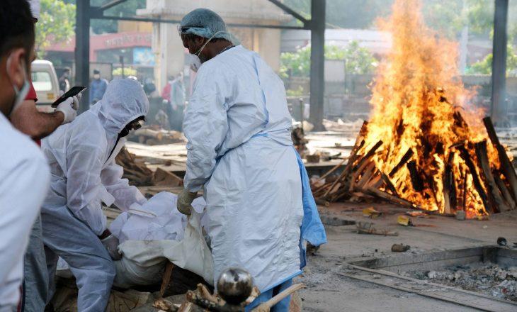 India raporton mbi katër mijë vdekje nga COVID-19 në 24 orët e fundit