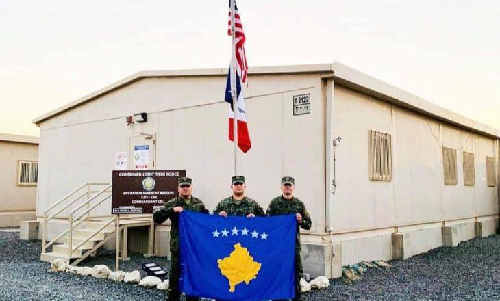 Ushtarët e FSK-së zbarkojnë në Kuvajt bashkë me Ushtrinë Amerikane