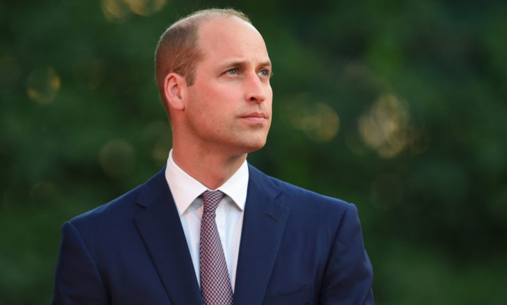 Princi William vaksinohet kundër COVID-19
