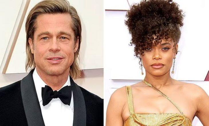 Brad Pitt shihet duke flirtuar me aktoren e njohur