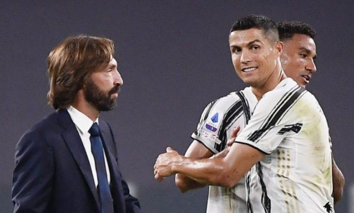 Ronaldo falënderon Pirlon pas largimit : Nder të stërvitesha nga ju, mjeshtër