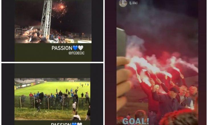 Arritje historike, ekipi shqiptar i Deçiqit nga Tuzi kalon në finalen e Kupës në Mal të Zi