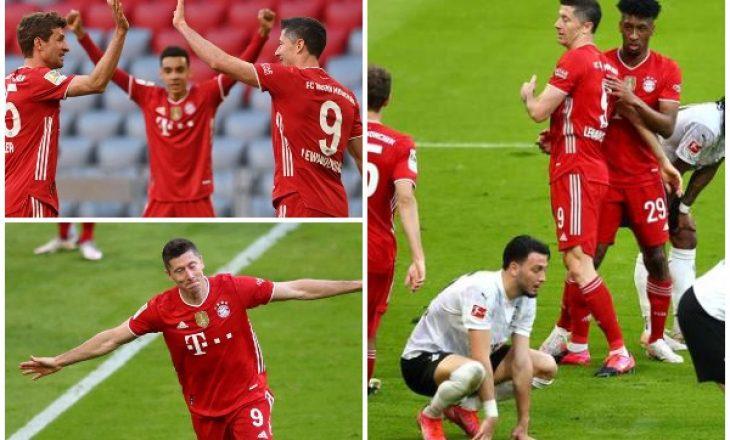 Bayern Munchen shpartallon Monchengladbachun, feston titullin në Bundesligë