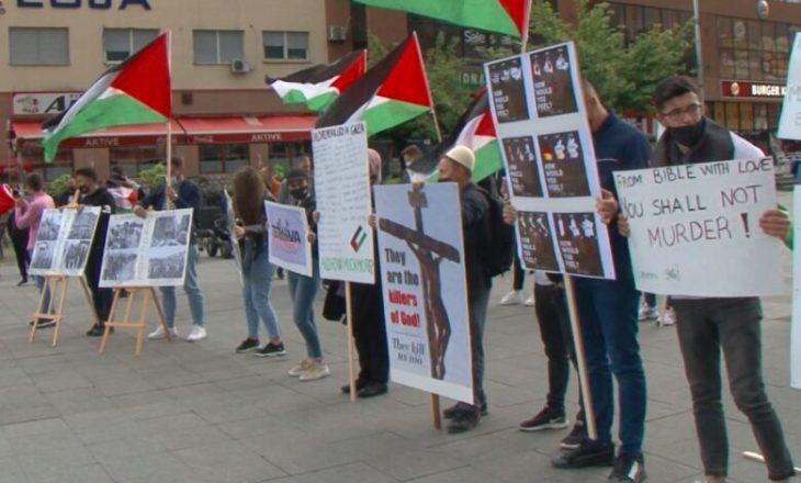 Tetovë, protestë kundër dhunës në Palestinë