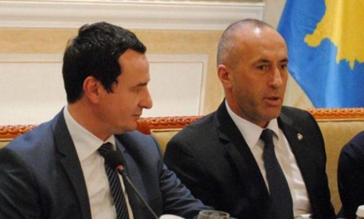 Kurti të martën takohet me Haradinajn