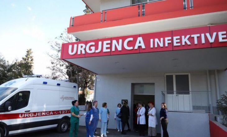 Vetëm tri raste të reja me COVID-19 në Shqipëri