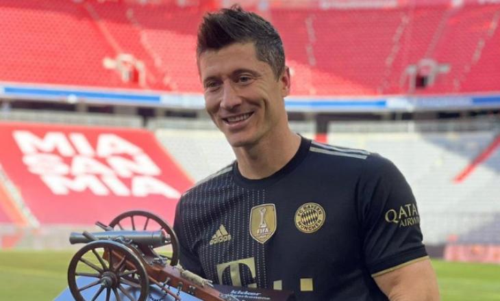 Lewandowski golashënuesi më i mirë në histori të Bundesligës