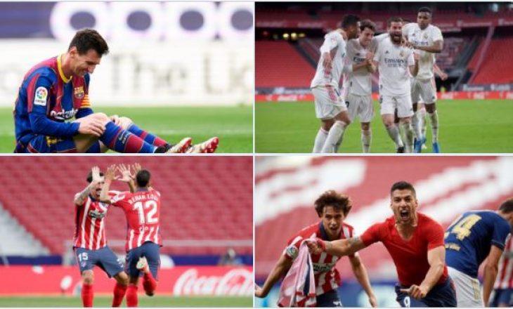 Titulli mbetet në Madrid – rezultatet e javës së 37-të në La Liga