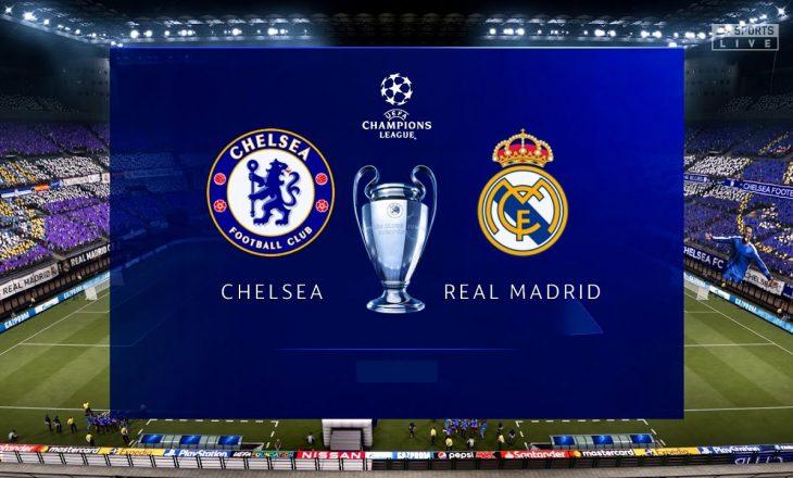 Real Madridi publikon listën e lojtarëve të ftuar për takimin me Chelsean